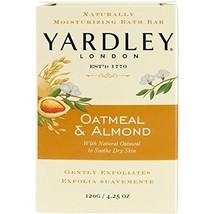 Yardley Oatmeal and Almond Bar Soap, 4.25 Ounce - $4.66