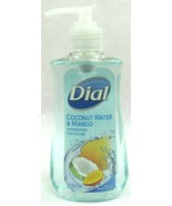 Dial Moisturizing Liquid Hand Soap Coconut Water & Mango 7.5 OZ Pump Bot... - $3.95