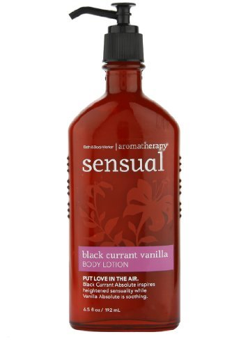Bath & Body Works Sensual Black Currant Vanilla Body Lotion 6.5 oz / 192 ml
