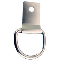 5 Mm X 1-1/8ft Hilason Horse Western Tack Nickel Plated Clip & Dee Ring U--290 - $6.88+