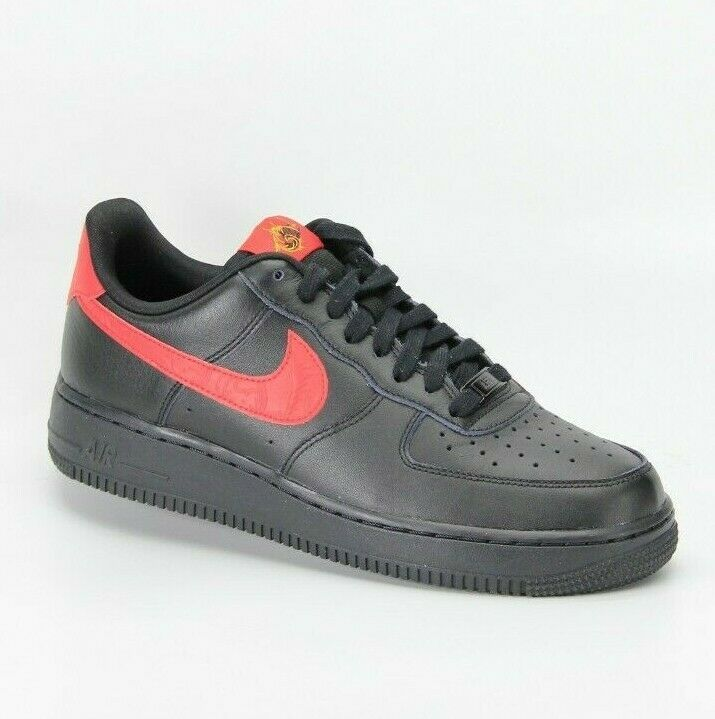 Primary image for Nike Women's Air Force 1 07 Low Top Classic Basketball Sneakers Black Size 9 New