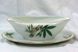 Noritake 1964 Canton #5027 Gravy Boat With Attached Underplate - $8.31