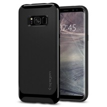Spigen Galaxy S8 Plus Case Neo Hybrid Shiny Black - $17.20