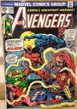 THE AVENGERS #126 (1974) Marvel Comics Black Panther G/VG - $9.89