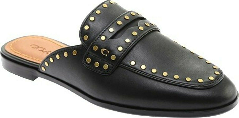 Coach Fiona Loafer Slides in Black Size 9 - $125.00