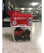Milwaukee shockwave impact Phillips #2 insert bits (15 contractor pk  - $4.00