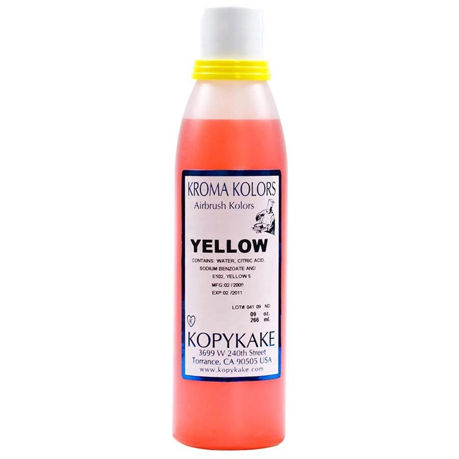 Primary image for Food Coloring, Yellow - 30 bottles - 9 oz ea