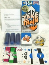 Take the Train Card Game Bicycle 2008 Complete - $11.78