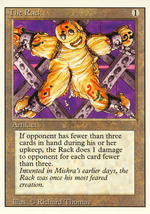 Magic: The Gathering 3rd Edition - The Rack - $1.49