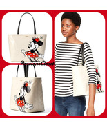 NWT KATE SPADE KSNY X MINNIE MOUSE FRANCIS TOTE BAG IN MULTI - $196.89