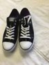 61751cce54c6 Converse Chuck Taylor All Star Ox Black Sequin 136079f SNEAKER SIZE 11 NWOB  -  33.36