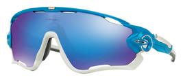 New Oakley OO9290-02 Jawbraker Sunglasses Sky w/ Sapphire Iridium Lens Fast Ship - $149.99