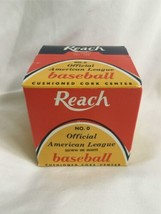 Vintage New in Box Official Cronin REACH American League Baseball No. 0 image 1