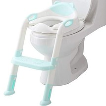 Potty Seat Toilet Boys Girls, Toddler Potty Training Seat Ladder, Adjust... - $31.90