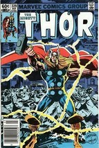 The Mighty Thor #329 Bronze Age Collectible Comic Book Marvel Comics! - $3.19