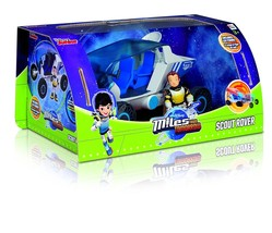 Miles from Tomorrow,scout rover,pull back, and go, action, figure, tv se... - $18.17