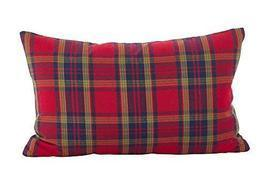Fennco Styles Tartan Plaid Pattern Traditional Cotton Down Filled Throw ... - $29.69