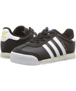 adidas Toddlers Samoa Casual Shoe Black/White/Talc BY3663 - $38.00