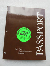 Q- 2001 Honda Passport Fuel & Emissions Service Manual OEM Factory Workshop - $7.08