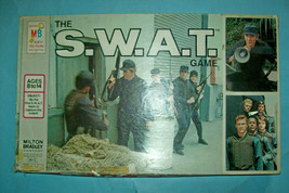 Vintage 1976 The S.W.A.T. Game by Milton Bradley    Based on TV Show   Free Ship - $27.56