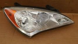10-12 Hyundai Genesis Coupe Headlight Head Light Halogen Passenger Right RH image 1