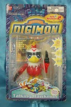Bandai Digimon Digital Monster Talking Figure Hawkmon n Card - $39.99