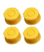 KP37 - PACK OF 4 BLITZ YELLOW SPOUT CAP FITS SELF-VENTING GAS CAN SPOUTS - $9.89
