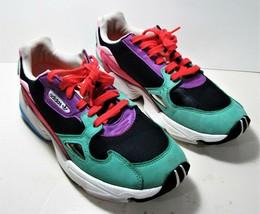 Womens ADIDAS Originals Falcon Collegiate Navy Multicolor Sneaker Size 10 CG6211 - $29.69