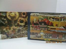 2 Rose Art 1000 Pc. Jigsaw Puzzles  Hats & Potpourri & Amish Quilts - $15.84