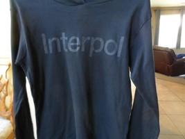 Interpol - Rare Manches Longues Pull Jr.Capuche ~ Tout Neuf ~ Jr. XL - $27.76
