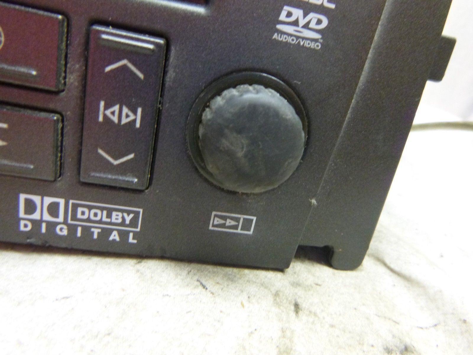 08 Cadillac STS DVD 6 Disc CD Navigation Radio Display Radio OEM 15904398 FP18