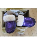 UGG Cozy Slippers Dazzle Sequins NEW - $125.00