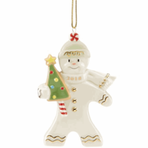 Lenox 2018 Gingerbread Man Ornament Figurine Annual Greetings Christmas NEW - $50.00