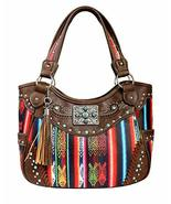 Premium Native Studded Concealed Carry Purse Western Style Country Leath... - $43.55