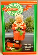 Hallmark: Mrs Claus Stocking Hanger - 1988 - $14.47