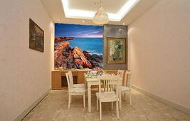3D Der Strand der klippe 3113 Fototapeten Wandbild Fototapete BildTapete Familie - $51.09+