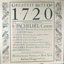 Greatest Hits of 1720 [Vinyl] Pachelbel; Richard Kapp and Philharmonia Virtuosi