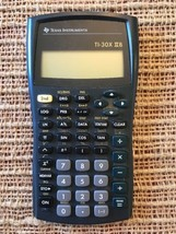 Texas Instruments TI-30X IIB Scientific Calculator (No Cover) For Parts/... - $6.25