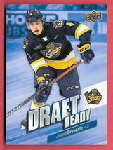2019-20 Jamie Drysdale Upper Deck CHL Rookie Draft Ready - Erie Otters - $2.38
