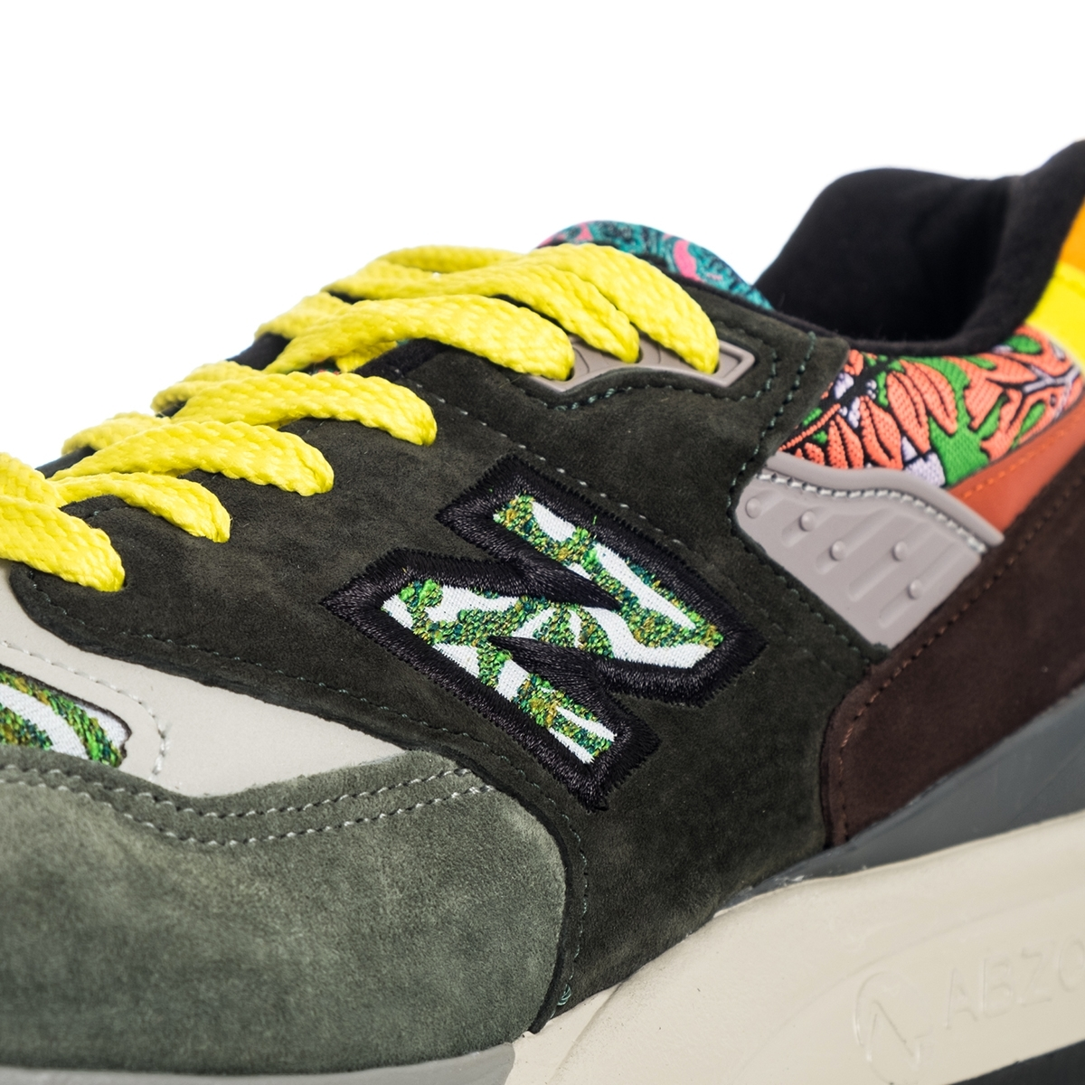 SNEAKERS MAN  NEW BALANCE LIFESTYLE 998 M998AWK MADE IN USA GREEN image 5