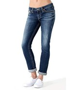 Big Star Women's Kate Mid Rise Straight in 16 Year Cascade (32R) - $69.29