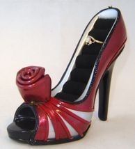 Sexy Red Stiletto Shoe 4 pc. Set Fashion Bank Purse Boot Ring Christmas Gift image 4