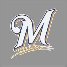 Milwaukee Brewers #4 MLB Team Logo Vinyl Decal Sticker Car Window Wall Cornhole - $4.40+