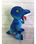Jurassic World Park Blue Dinosaur Small Plush Stuffed Animal Toy - $15.83