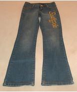 SOUTHPOLE JR Size 3 Low Rise Boot Cut Worn Faded Blue Denim Jean Pants GD - $14.06