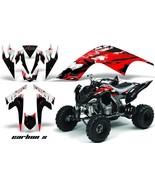 ATV Decal Graphic Kit Quad Sticker Wrap For Yamaha Raptor 700 2006-2012 ... - $168.25