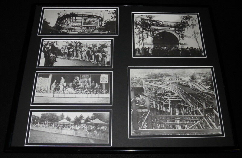Primary image for Kennywood Park Pittsburgh Amusement Framed 16x20 Photo Collage Display