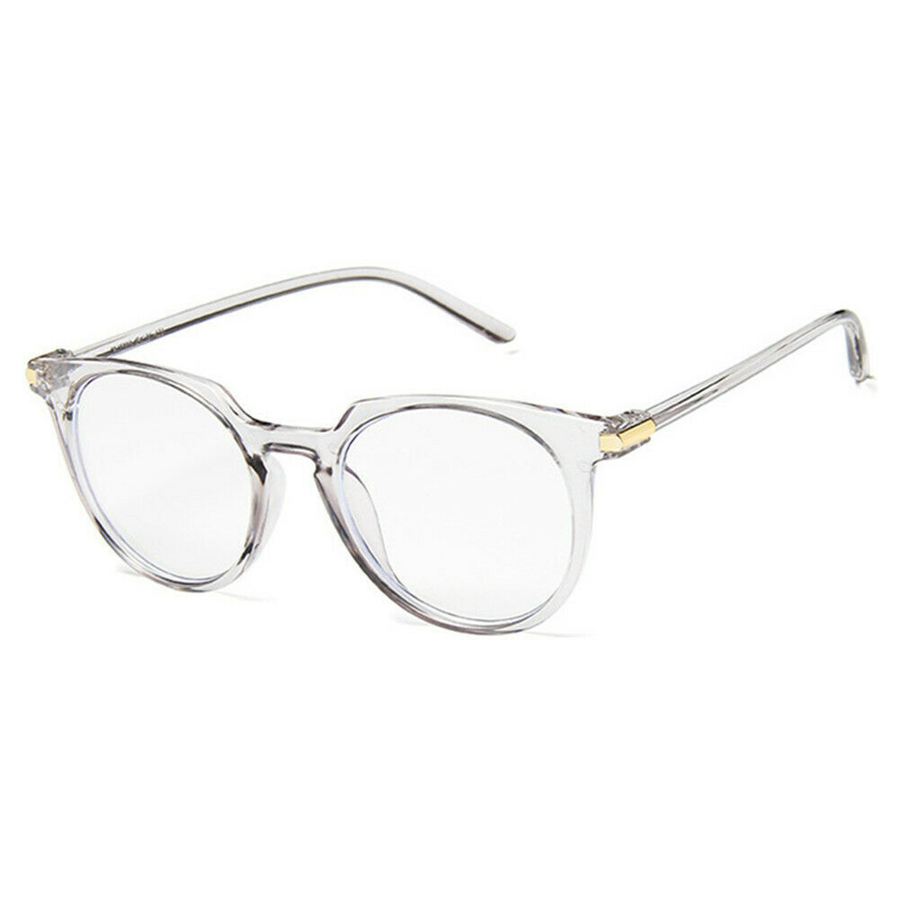 New Fashion Retro Style Oval Clear Lens Glasses Frame Retro Casual Daily Eyewear