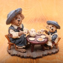 Boyds Bears and Friends The Bearstone Collection Catherine & Caitlin 020... - $18.69