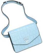 DKNY Whitney Leather Croco Embossed Belt Bag, Blue $128 - $57.37